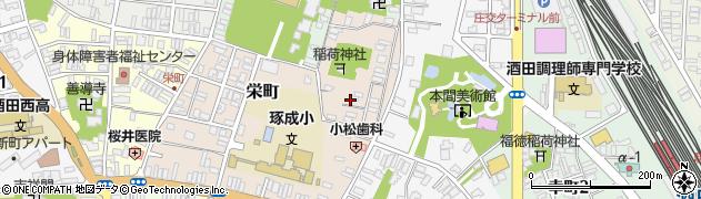 山形県酒田市栄町5-26周辺の地図