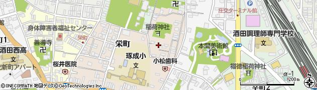 山形県酒田市栄町5周辺の地図