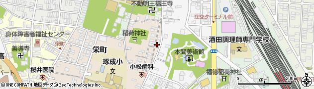 山形県酒田市栄町3周辺の地図