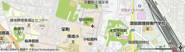 山形県酒田市栄町5-24周辺の地図