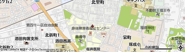 山形県酒田市北今町4周辺の地図
