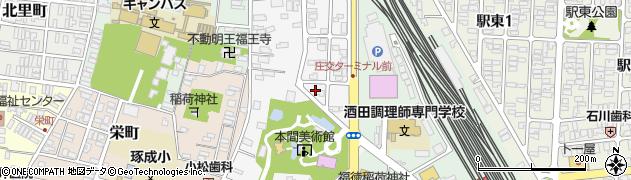 山形県酒田市御成町9周辺の地図