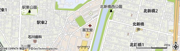 山形県酒田市旭新町20周辺の地図