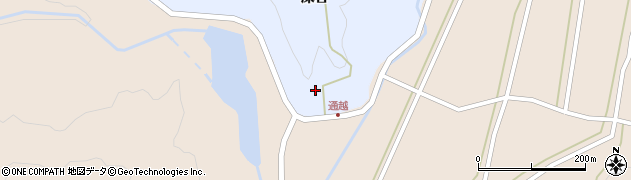 山形県酒田市北沢深谷164周辺の地図