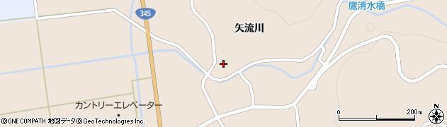 山形県酒田市生石矢流川265周辺の地図