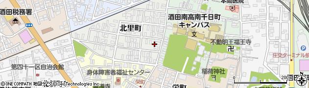 山形県酒田市北里町2周辺の地図
