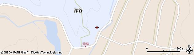 山形県酒田市北沢深谷144周辺の地図