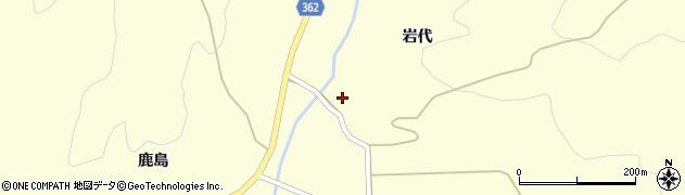 山形県酒田市北俣岩代25周辺の地図