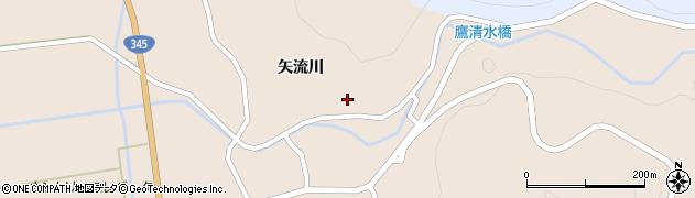山形県酒田市生石矢流川238周辺の地図