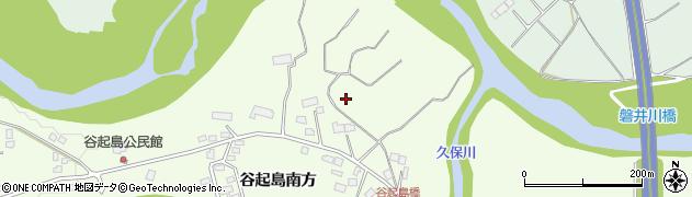 岩手県一関市萩荘(谷起島北方)周辺の地図