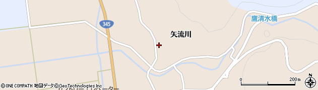 山形県酒田市生石矢流川271周辺の地図