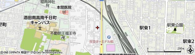 山形県酒田市御成町12周辺の地図