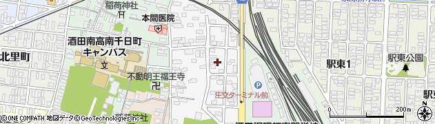 山形県酒田市御成町13周辺の地図