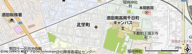 山形県酒田市北里町3周辺の地図
