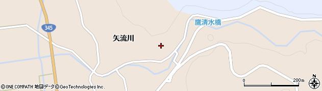山形県酒田市生石矢流川224周辺の地図