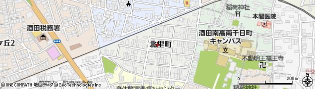 山形県酒田市北里町7周辺の地図