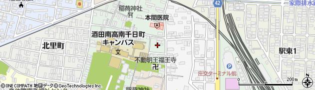 山形県酒田市南千日町2周辺の地図