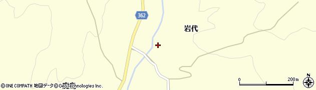 山形県酒田市北俣岩代38周辺の地図