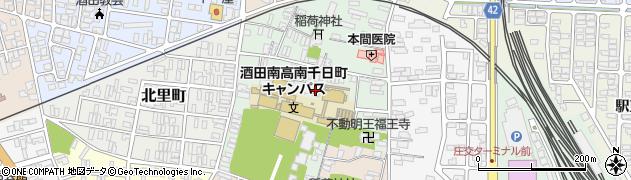 端相寺周辺の地図