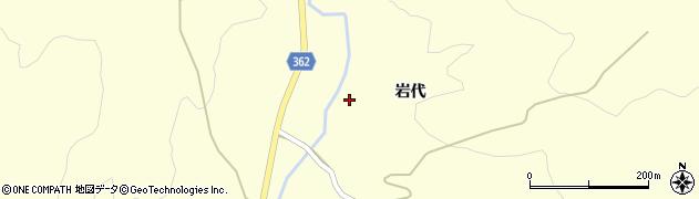 山形県酒田市北俣岩代44周辺の地図
