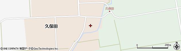 山形県酒田市久保田村西3周辺の地図