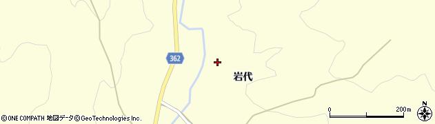 山形県酒田市北俣岩代49周辺の地図