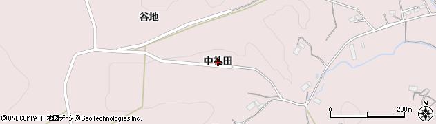 岩手県一関市千厩町磐清水(中礼田)周辺の地図