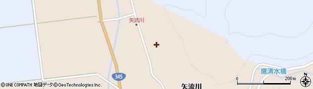 山形県酒田市生石矢流川322周辺の地図