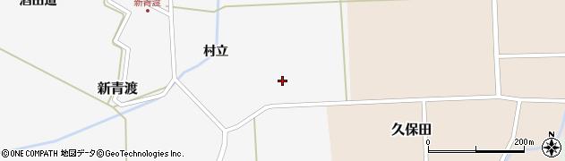 山形県酒田市新青渡東割2周辺の地図
