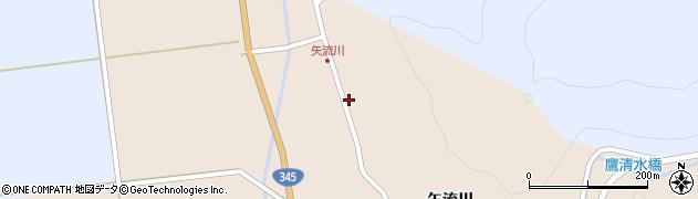 山形県酒田市生石矢流川323周辺の地図