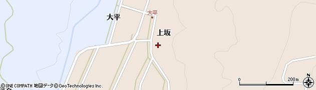 山形県酒田市生石上坂115周辺の地図