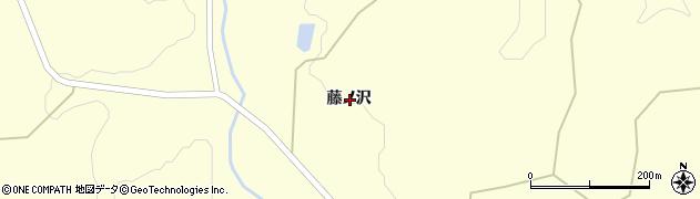岩手県一関市狐禅寺藤ノ沢周辺の地図