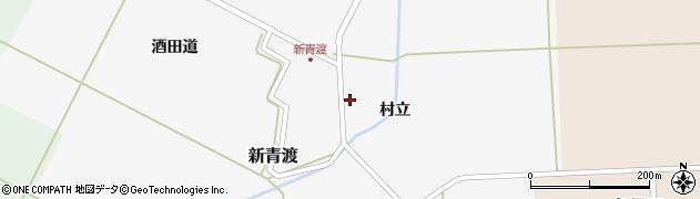 山形県酒田市新青渡村立32周辺の地図
