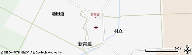 山形県酒田市新青渡村立65周辺の地図