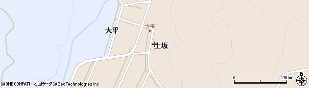 山形県酒田市生石上坂117周辺の地図