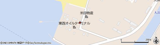 山形県酒田市大浜2丁目周辺の地図
