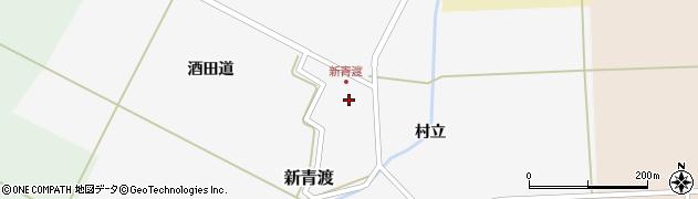 山形県酒田市新青渡村立63周辺の地図