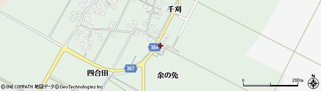 山形県酒田市漆曽根余の免29周辺の地図