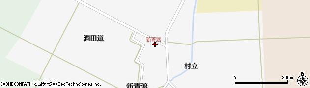 山形県酒田市新青渡村立61周辺の地図