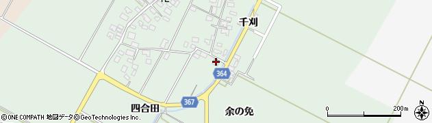 山形県酒田市漆曽根四合田99周辺の地図