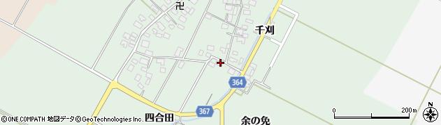 山形県酒田市漆曽根四合田100周辺の地図