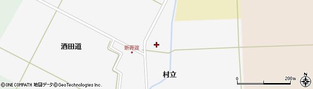 山形県酒田市新青渡村立38周辺の地図