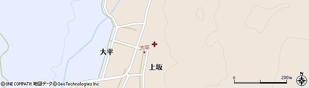 山形県酒田市生石上坂125周辺の地図