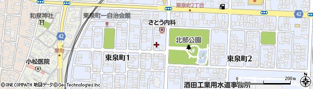 文思寮周辺の地図