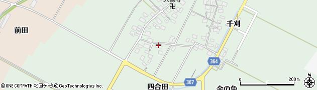 山形県酒田市漆曽根四合田189周辺の地図