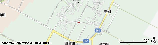 山形県酒田市漆曽根四合田108周辺の地図