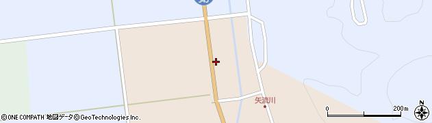 山形県酒田市生石関道周辺の地図