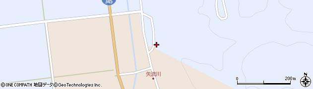 山形県酒田市北沢仁枚田37周辺の地図