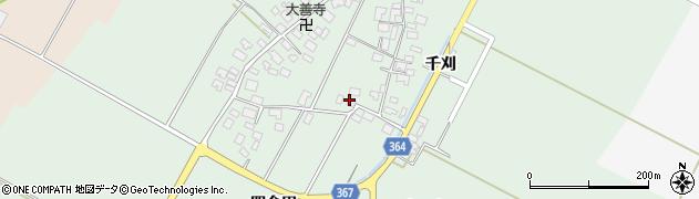 山形県酒田市漆曽根四合田73周辺の地図