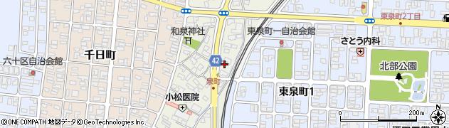山形県酒田市泉町5周辺の地図